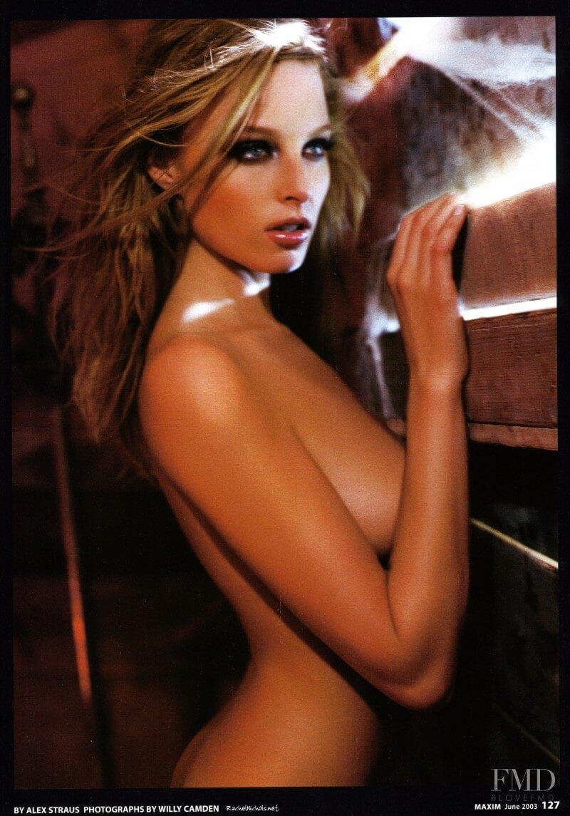 Rachel Nichols sexy side boobs
