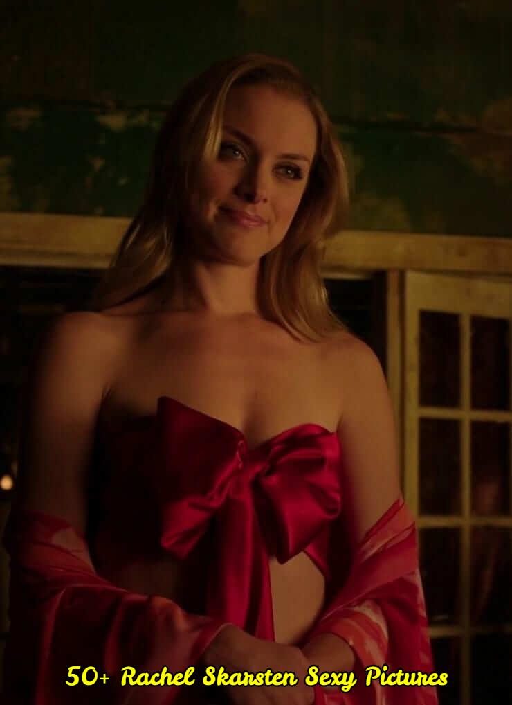 Rachel Skarsten cleavage pic