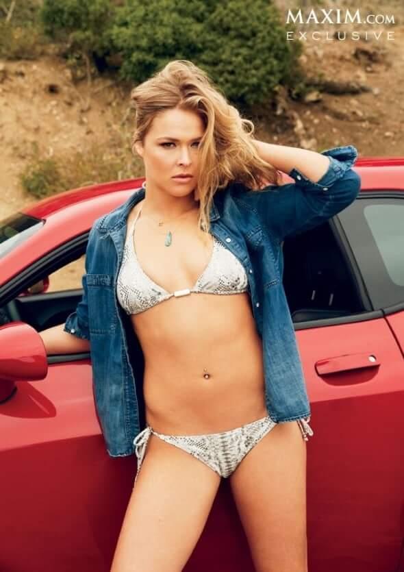 Ronda Rousey sexy bikini pic