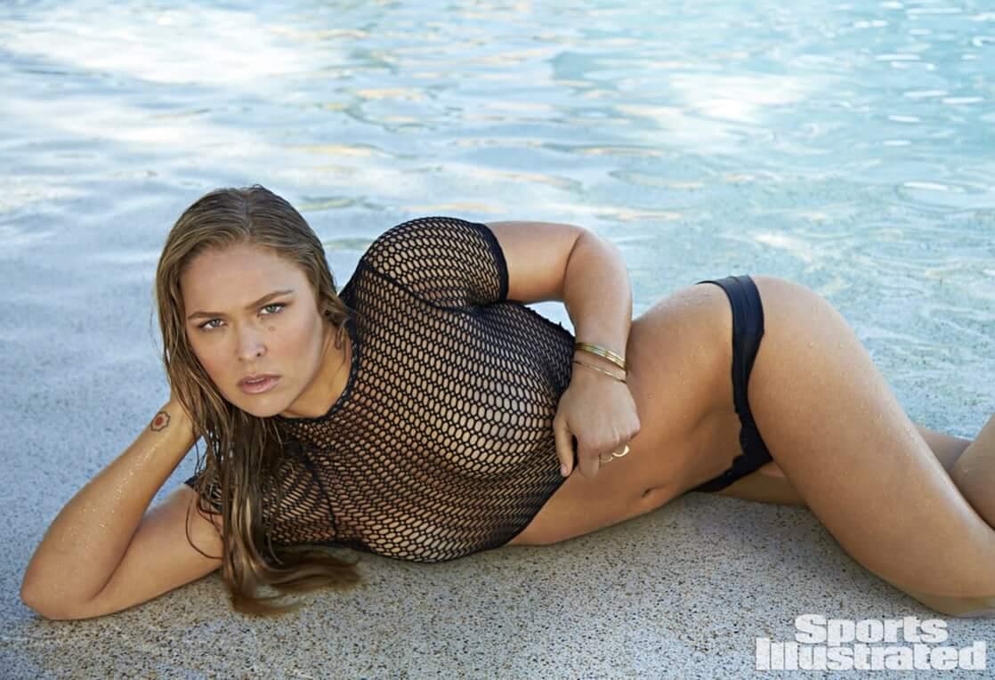 Ronda Rousey sexy wet look