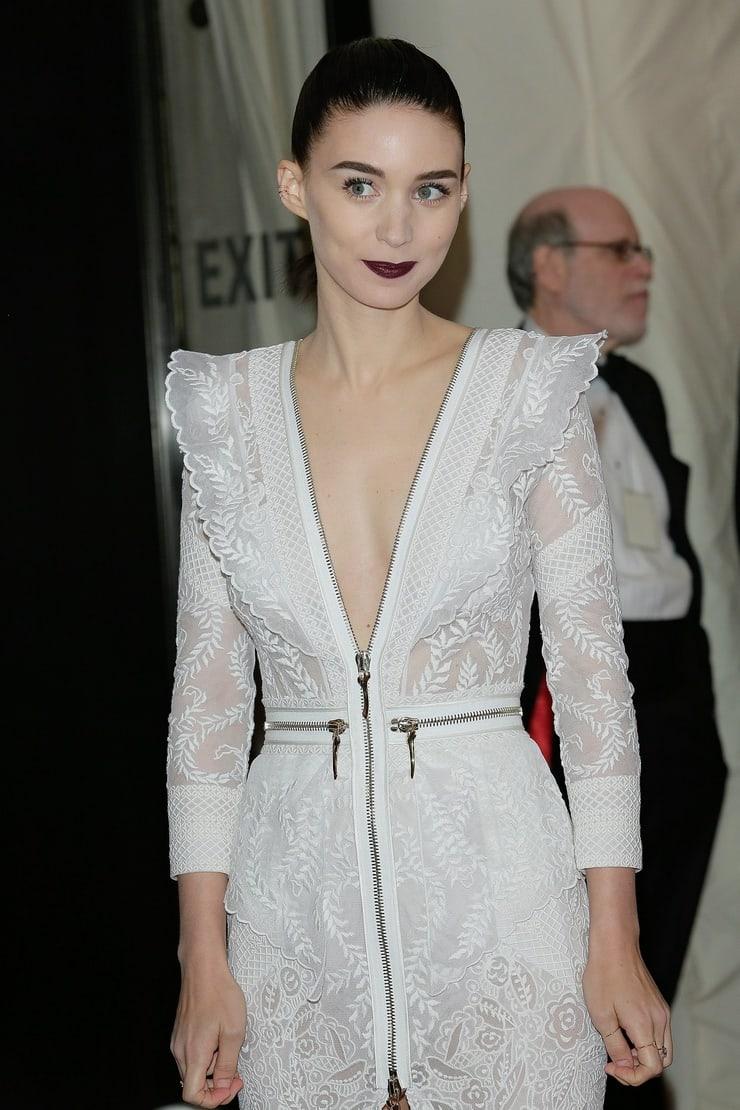 Rooney Mara hot cleavage