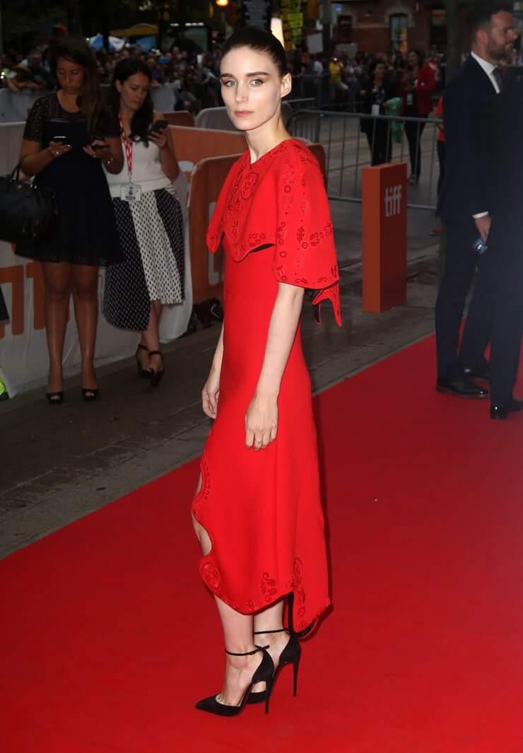 Rooney Mara hot dress