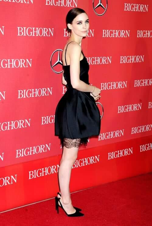 Rooney Mara legs