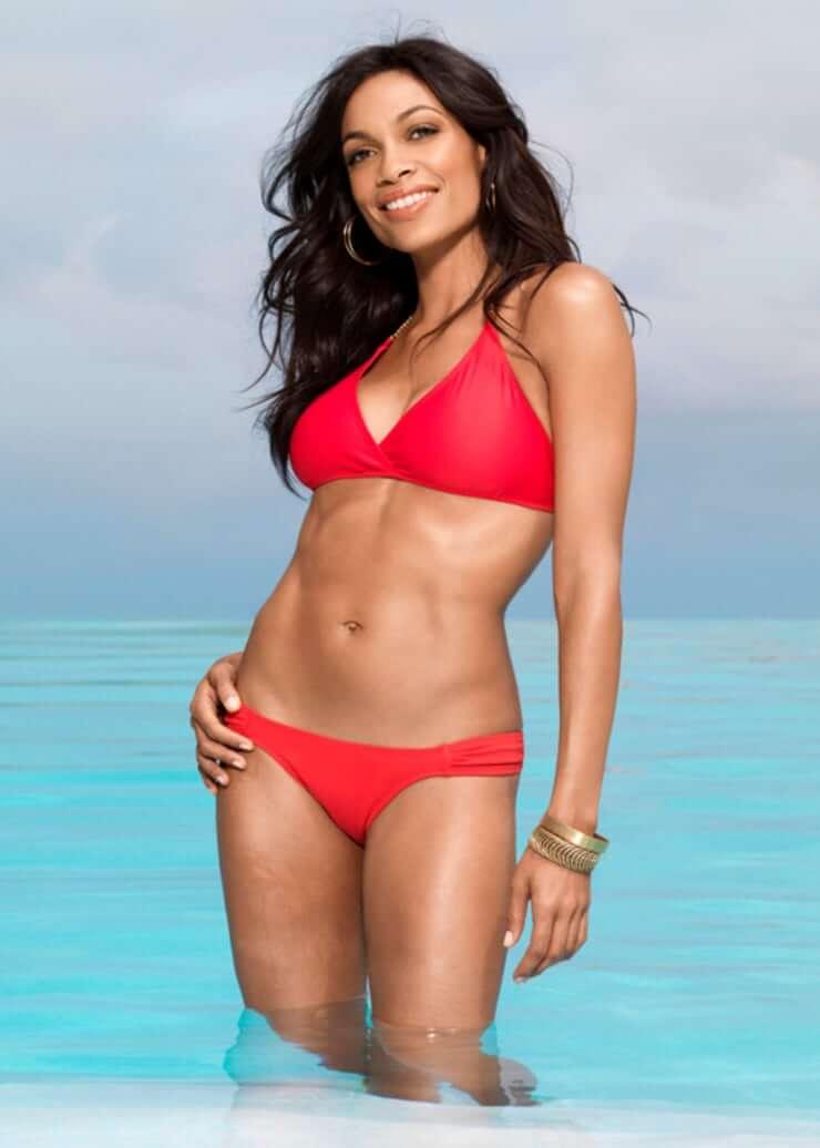 Rosario Dawson hot bikini pic
