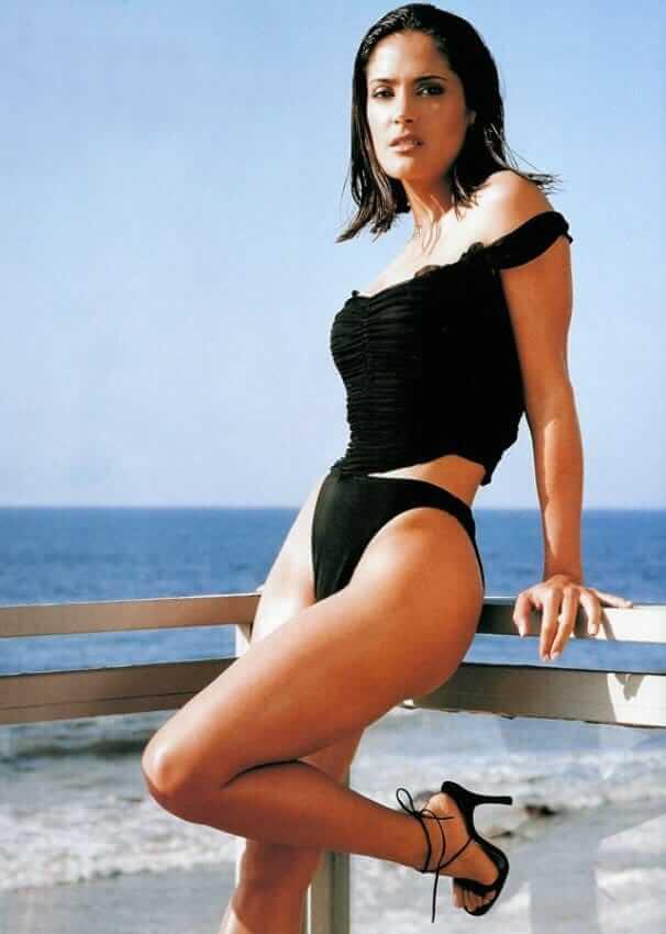 Salma Hayek sexy ass pics