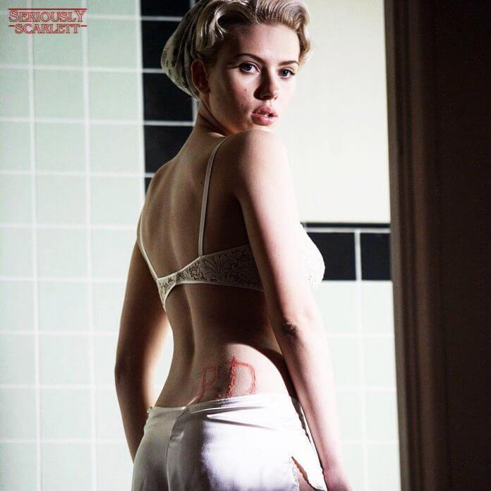 Scarlett Johansson hot ass pics