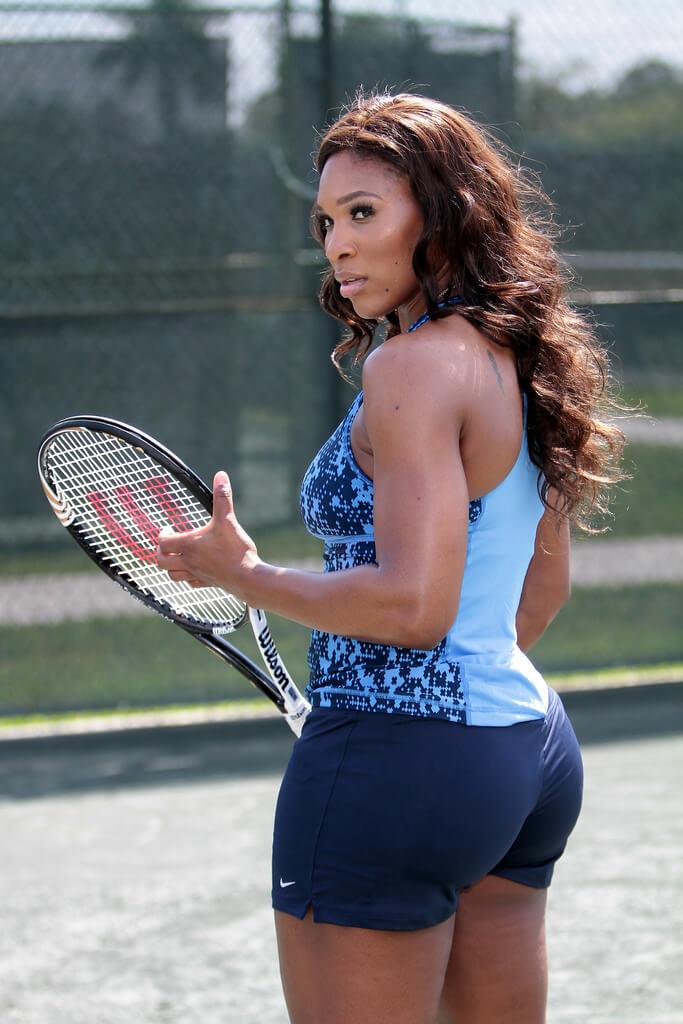 Serena Williams hot booty