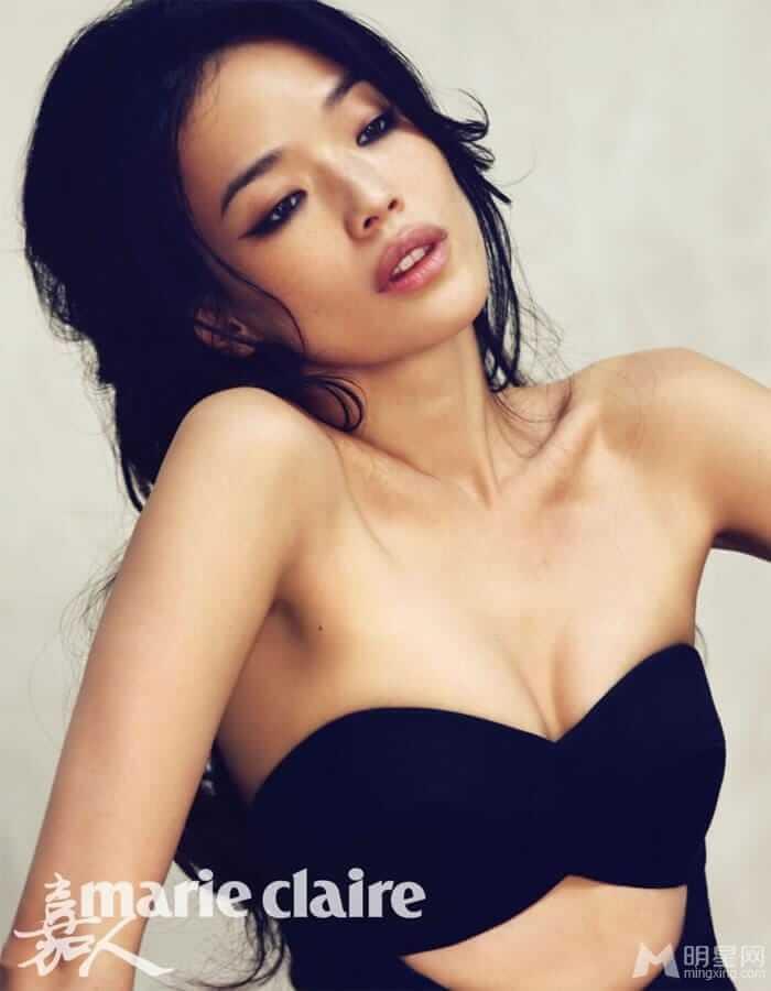 Shu Qi sexy cleavage
