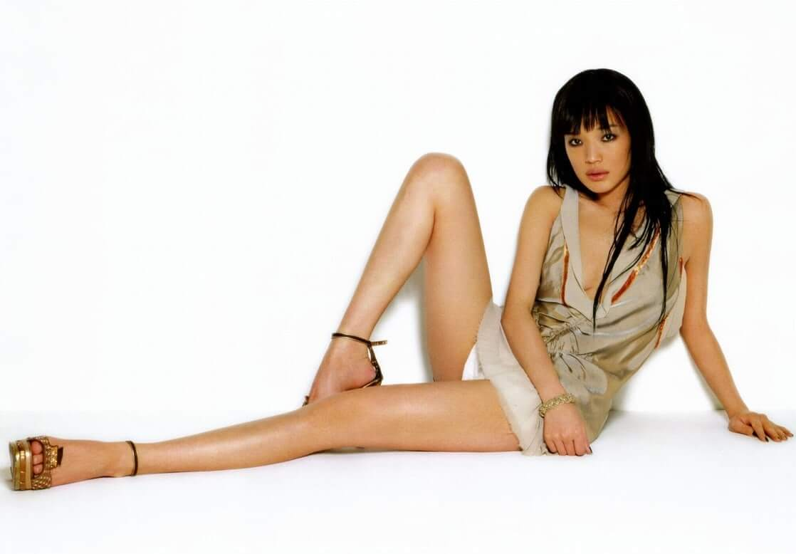 Shu Qi sexy feet