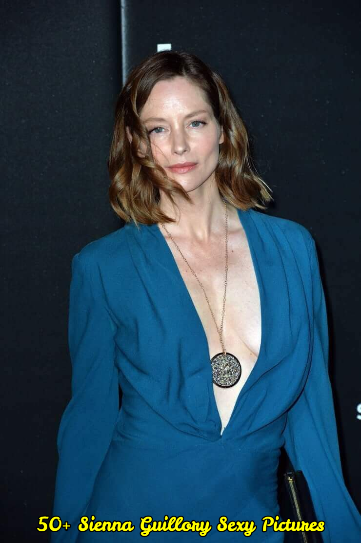Sienna Guillory hot cleavage pictures