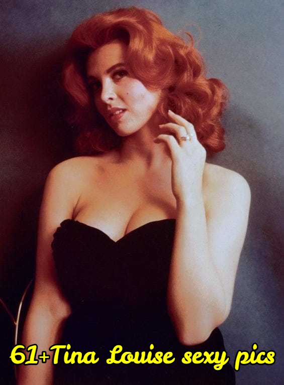 Tina Louise sexy cleavage (2)