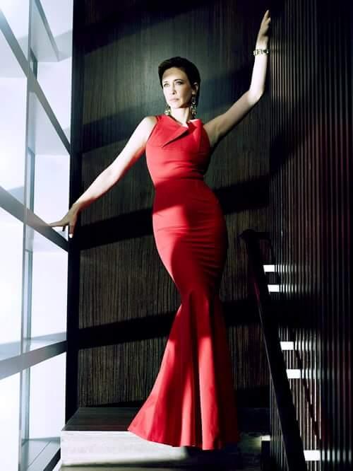 Vera Farmiga hot dress