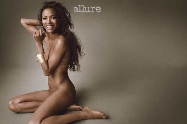 Zoe Saldana sexy nude pics