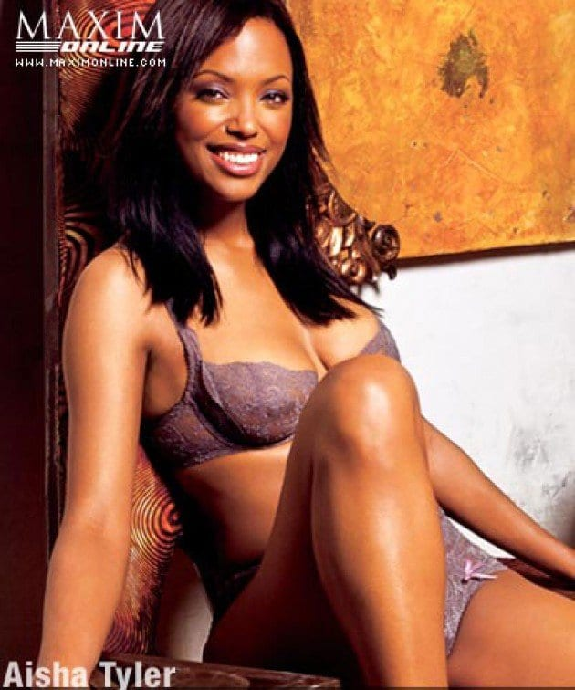 aisha tyler bikini pics