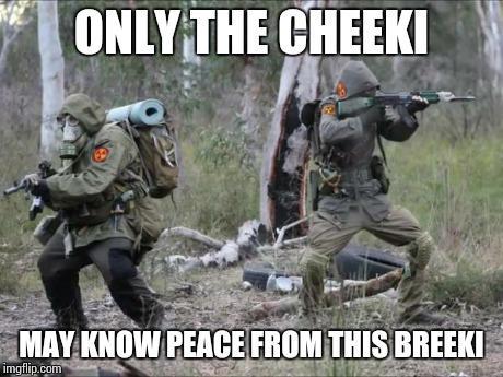 amusing Cheeki Breeki memes