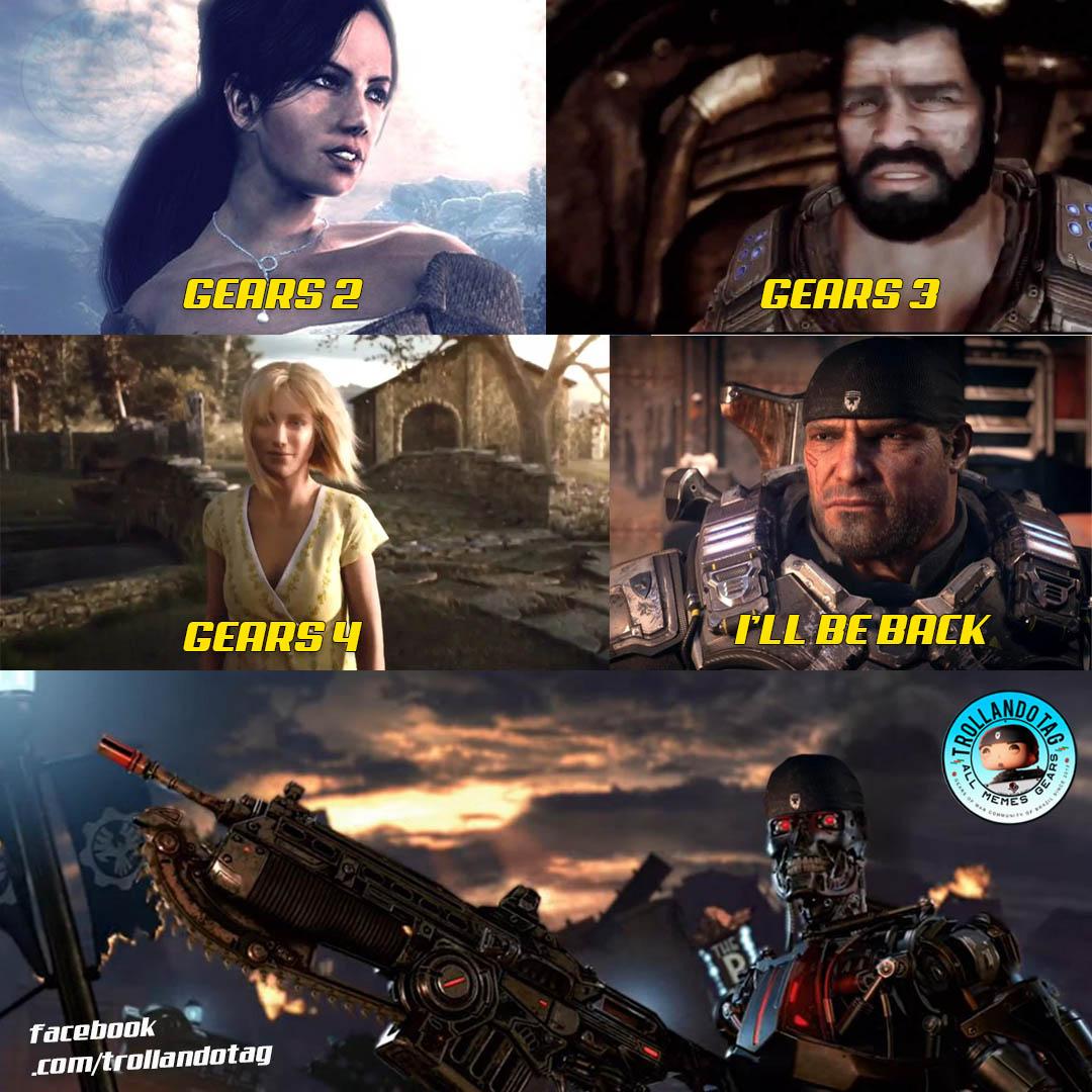 amusing Gears 5 memes