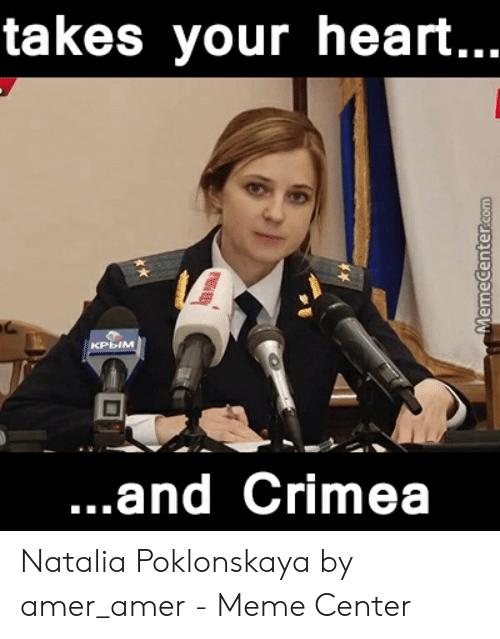 amusing Natalia Poklonskaya memes