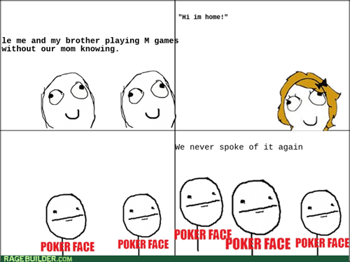animated Poker Face memes