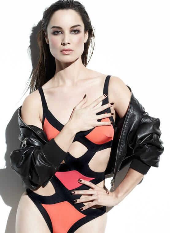 bérénice marlohe sexy swimsuit