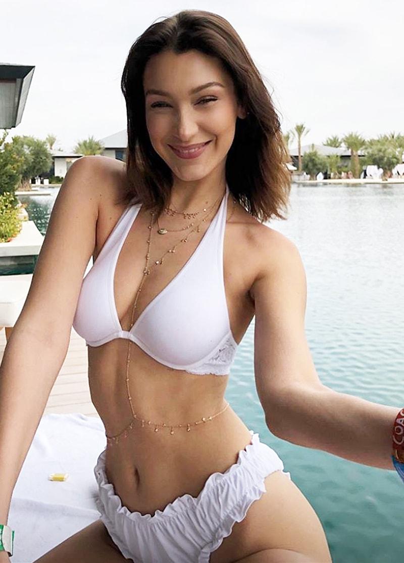 bella-hadid-white-sexy-bikini-