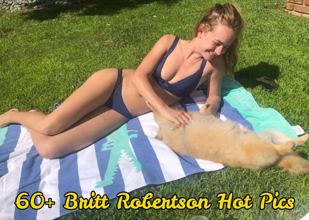 britt robertson hot bikini