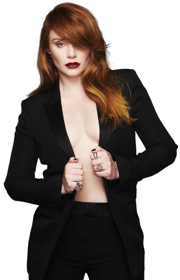 bryce dallas howard hot cleavage picures