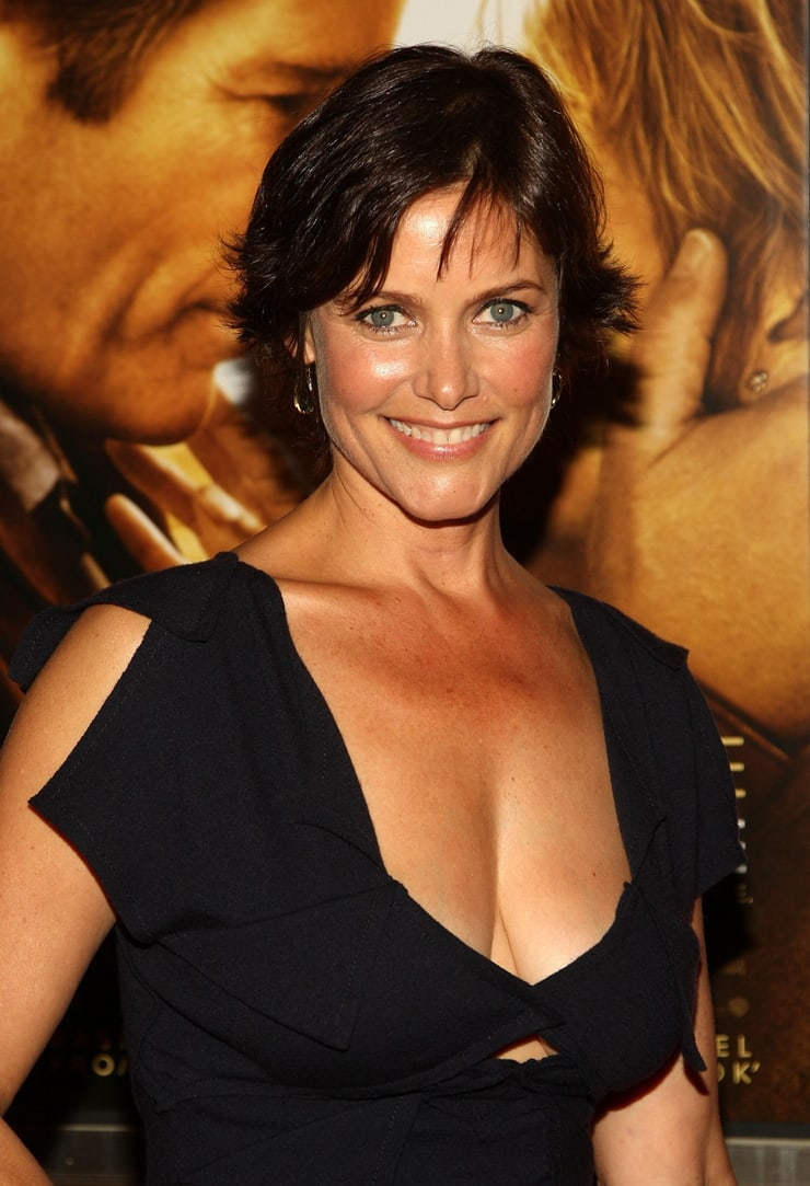 carey lowell cleavage