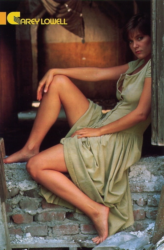 carey lowell hot feet