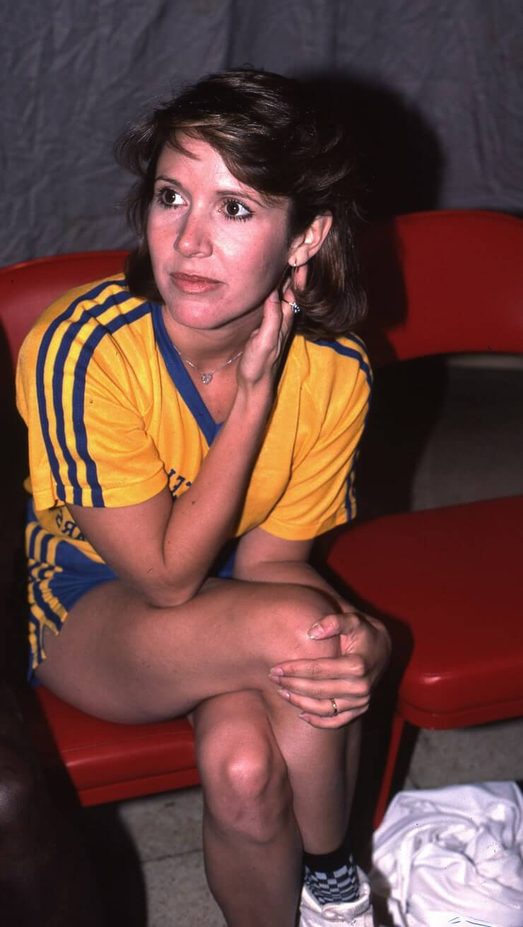 carrie fisher hot pictures