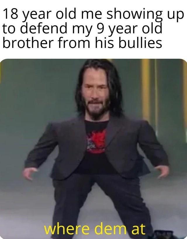 cheerful Keanu reeves memes