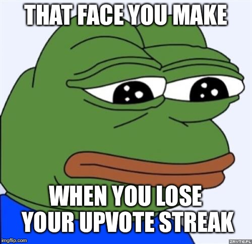 cheerful Sad frog memes