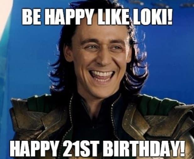 cheerful adult birthday memes
