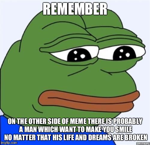 chucklesome Sad frog memes