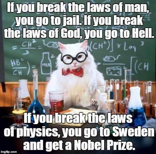 comic Chemistry Cat memes