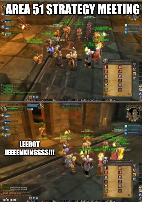 comic Leeroy Jenkins memes