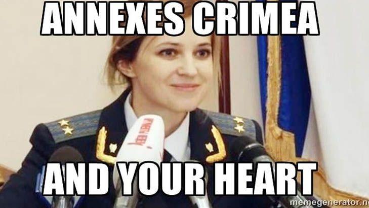 comic Natalia Poklonskaya memes
