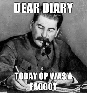 comic OP is a Faggot memes