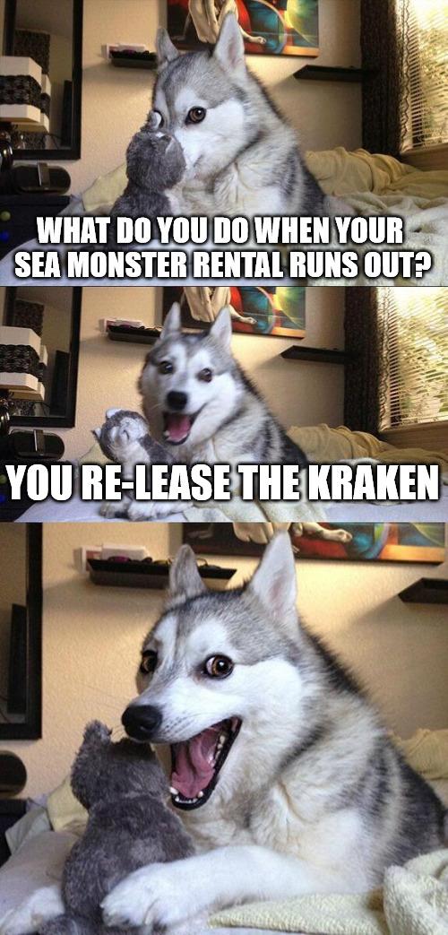 comic Release The Kraken! memes