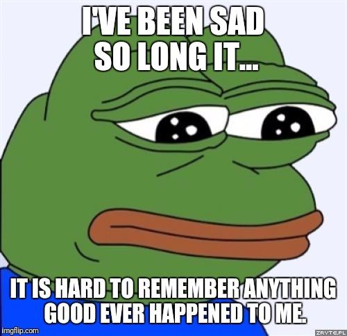 comic Sad frog memes