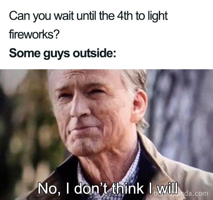 comical 4th of july meme