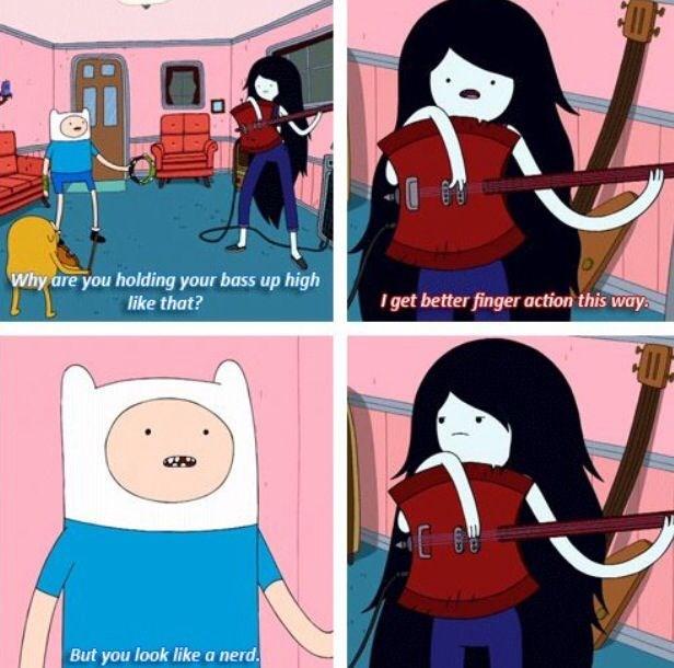 comical Adventure Time memes