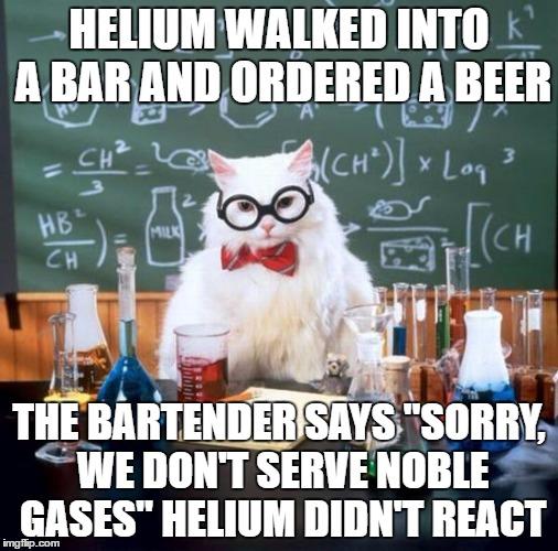 comical Chemistry Cat memes