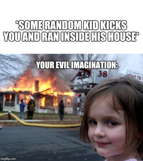 comical Disaster Girl memes