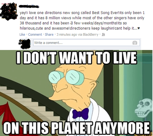 comical I Don't Want to Live on This Planet Anymore memes