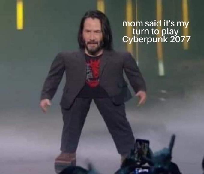 comical Keanu reeves memes