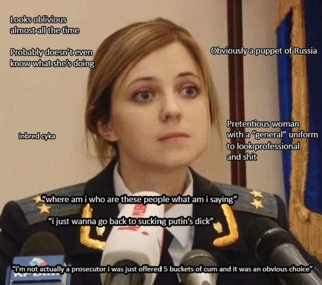 comical Natalia Poklonskaya memes