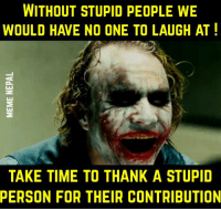 comical Stupid people memes