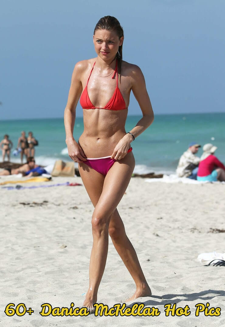 danica mckellar red bikini