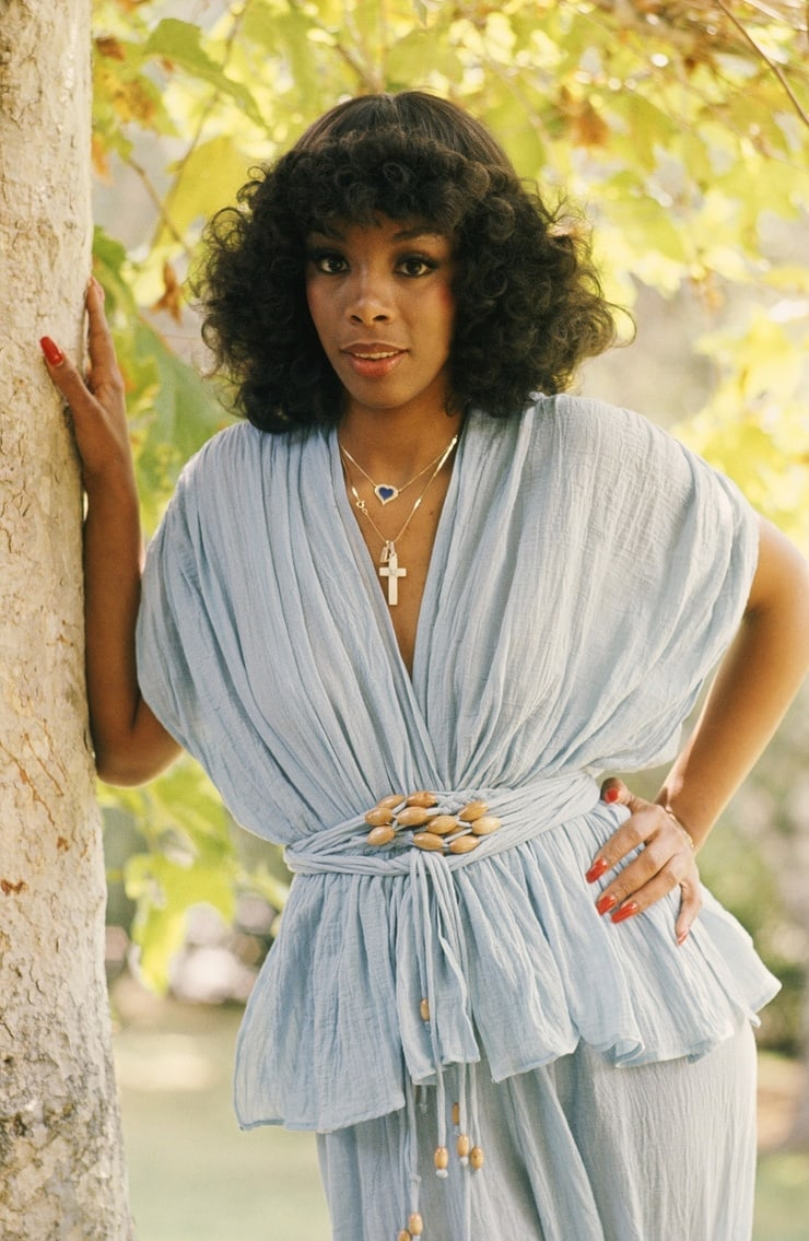 donna summer cleavage