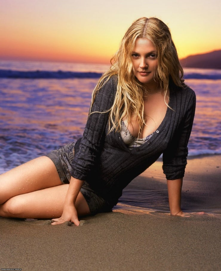drew barrymore outdoor